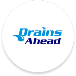 drains ahead logo