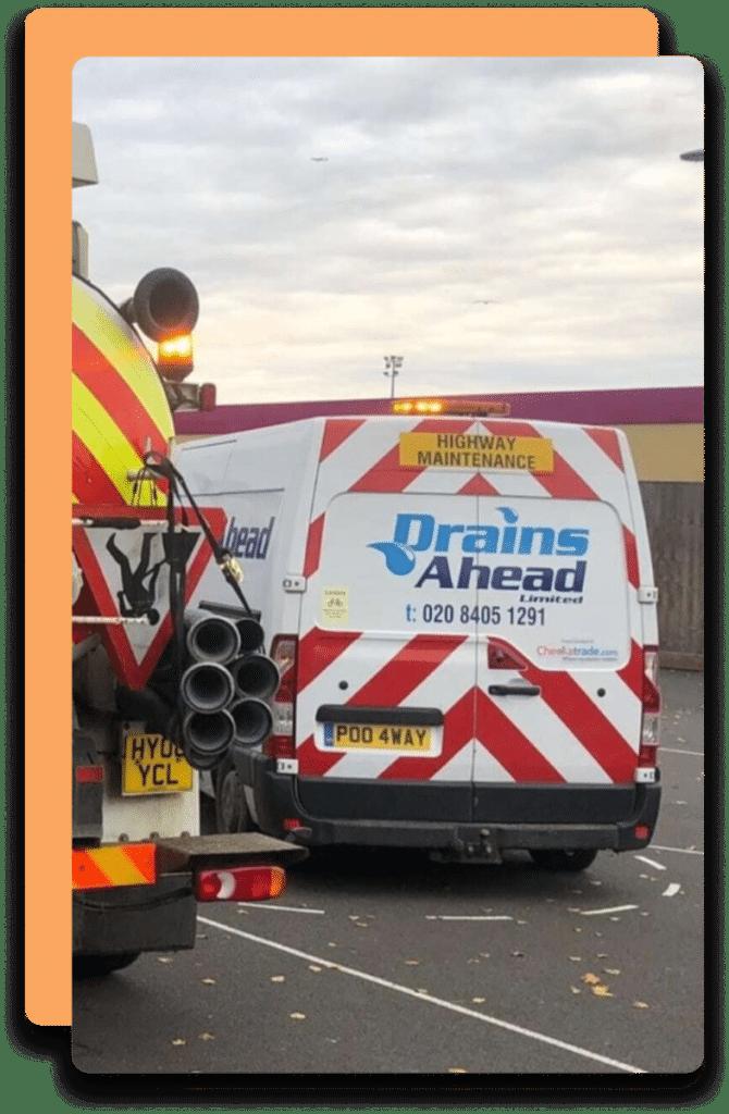 Drains Ahead Van