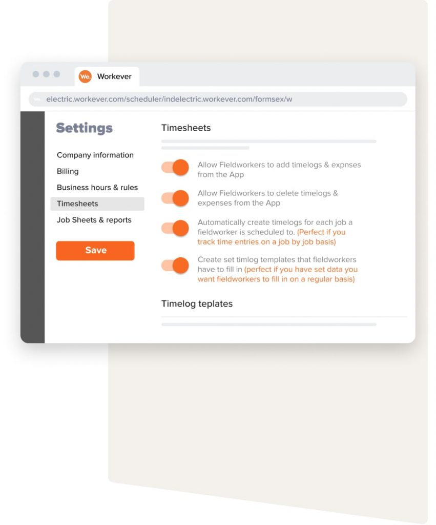 timesheets settings 2x