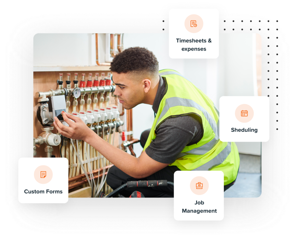 Tradesman features page image
