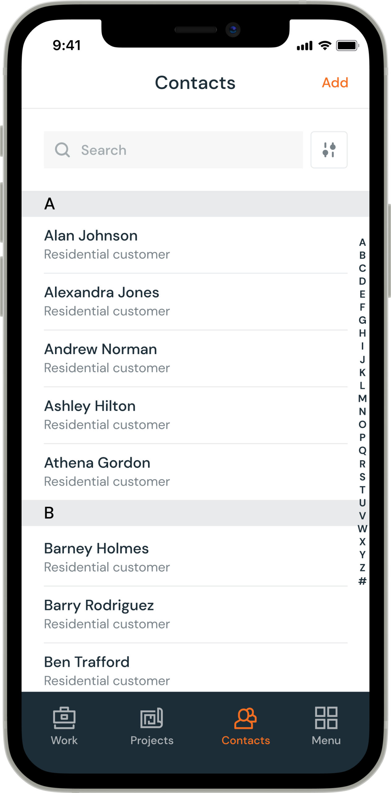 Contacts list mobile@2x scaled